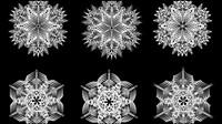 Negro y blanco patr��n 02 - vector de material