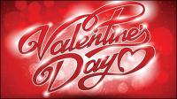 Valentine WordArt fondo 05 - vector de material