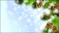 Schöne Weihnachten Hintergrund 02 - Vektor Material