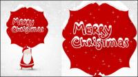 Beau Noël illustrateur 04 - mat��riel vecteur