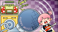 Cartoon Music illustrateur 03 - mat��riel vecteur