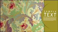 Klassische Muster Hintergrund 03 - Vektor Material
