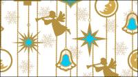 Le motif de bande dessin��e motif de fond exquise 03 - mat��riel vecteur