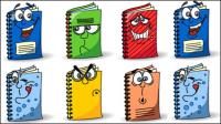 La bande dessin��e mignonne image de livres - Vecteur