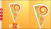 Die Karikatur pizza03-Vector
