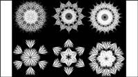 Noir et blanc motif 05 - mat��riel vecteur