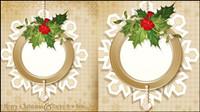 Motifs de Noël 03 - mat��riel vecteur