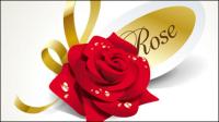 Schöne Rosen 02 - Vektor Material