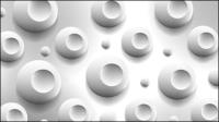 Étiquette 3D st��r��o 02 - mat��riel vecteur