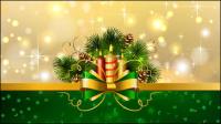 Schöne Weihnachten Hintergrund 04 - Vektor Material
