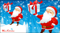 Cartoon Santa Claus 02 - Vektor Material