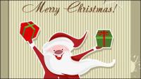 Cartoon Santa Claus 04 - mat��riel vecteur