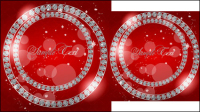 Valentine card 03 - Vektor Material