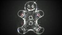 Halo exquise petite poup��e - mat��riel vecteur