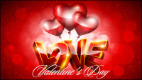 Valentine background 04 Fantaisie - mat��riel vecteur
