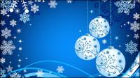 Schöne Weihnachts-Ball Hintergrund 04 - Vektor Material