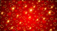 Valentine background 01 - mat��riel vecteur