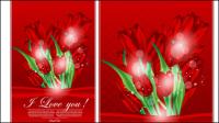 Valentine card 01 - Vektor Material