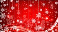 Navidad hermosa bola 05 - vector de material
