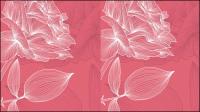 Les fleurs fraîches lignes 01 - mat��riel vecteur