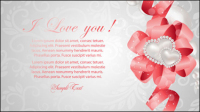 Valentine carte 02 - mat��riel vecteur