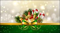 D��coration de Noël 01 - mat��riel vecteur