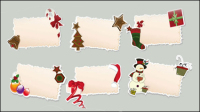 Dessin anim�� de Noël balises d