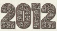 Motifs mayas 04 - mat��riel vecteur