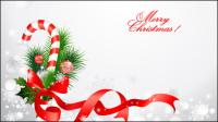 Material de la decoraci¨®n de Navidad 04 - vector de material