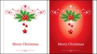 Belle carte de Noël - vecteur mat��riel
