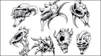 Terror Warcraft avatar 03 - vector de material