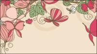Motifs floraux 03 - vecteur mat��riel