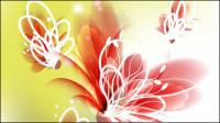 Colorful fleurs 01 - mat��riel vecteur