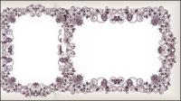 Beaux fronti��re de motif 05 - mat��riel vecteur
