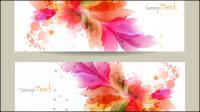 Floral Banner 01 - Vektor Material