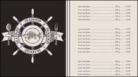 Menus de bande dessin��e 02 - mat��riel vecteur