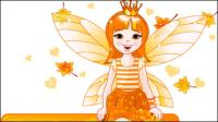 Flower Fairy 01 - mat��riel vecteur
