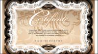 Certificat de mention ��logieuse 03 - mat��riel vecteur