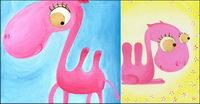 Pink chameau vecteur mat��riel