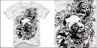 t-shirt design Vector mat��riel
