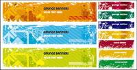 Material im Retro-Stil banner vector background