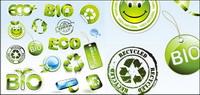 Environmental icône vecteur mat��riel