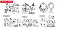 Bouddhistes artefacts Graphique