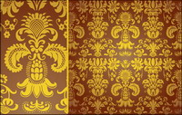 Klassische Muster Vektor