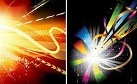 Licht, Linien-, Vektor -