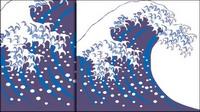 Wave pulv��risation de vecteurs mat��riels