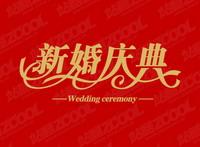 Celebraci¨®n de la boda Vector