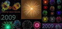 Fireworks Festival, Chinese New Year Vektor