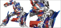 Transformers Optimus Prime Vector