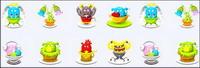 Basket Monsters icônes